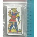 tarot de poche avec les lames majeures - 8 x 4 cm