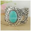 Bracelet en argent avec Turquoise