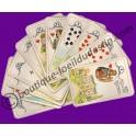 Le petit Lenormand (jeu de cartes de divination)