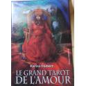 Le Grand Tarot de l'Amour, format 11 x 8 cm