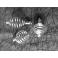 spirale argentée pour porter vos pierres en collier