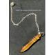 Pendule style pendule de Thot en pierre naturelle